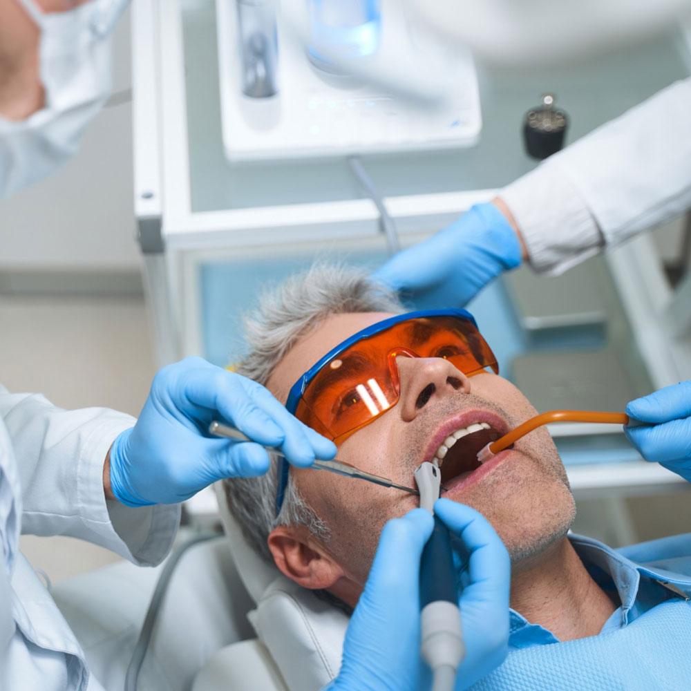Dental deep clean
